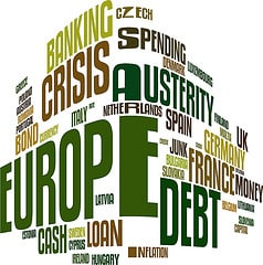 Europe Debt Crisis Word Cloud
