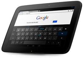 Google Nexus 10 tablet
