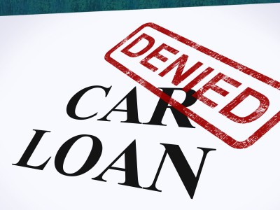 Car Loan Denied Now What