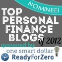 Top 2012 Personal Finance Blog Nominee