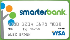 smarterbank review debit card