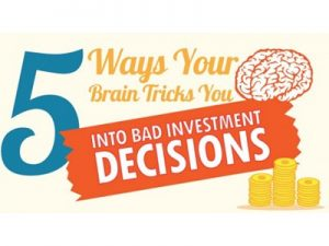 bad investment decisions with brain