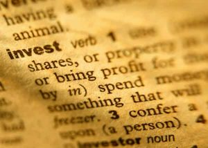 invest dictionary term