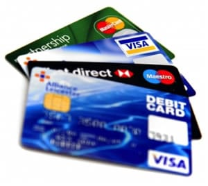 US Personal Debt Levels continue to fall - credit cards