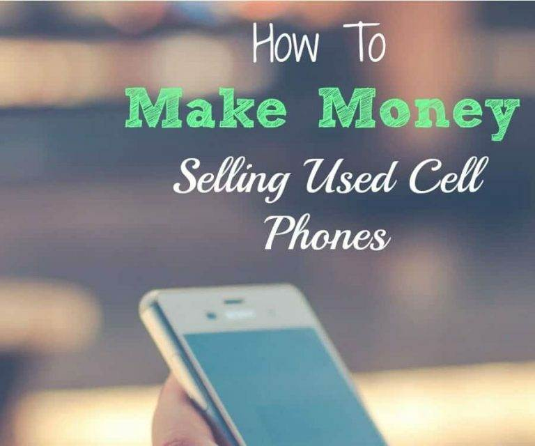 How to Make Money Selling Used Cell Phones