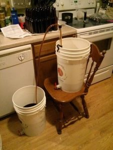 beer brewing at home