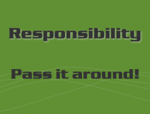 Where did personal responsibility go?