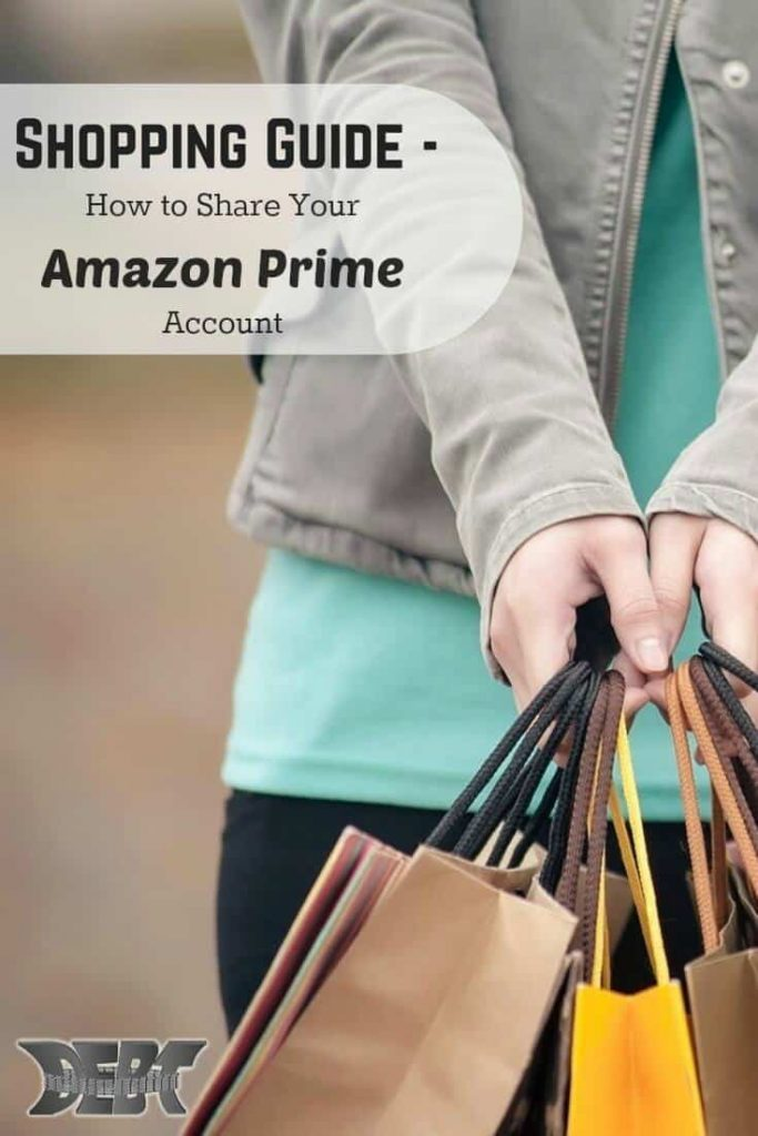 Shopping Guide - Sharing Amazon Prime Account
