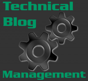 Technical Blog management