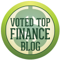 Voted top personal finance blog
