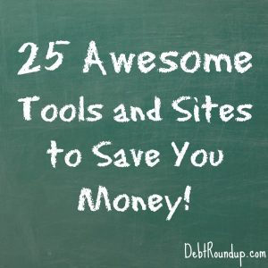 25 savings tools and sites
