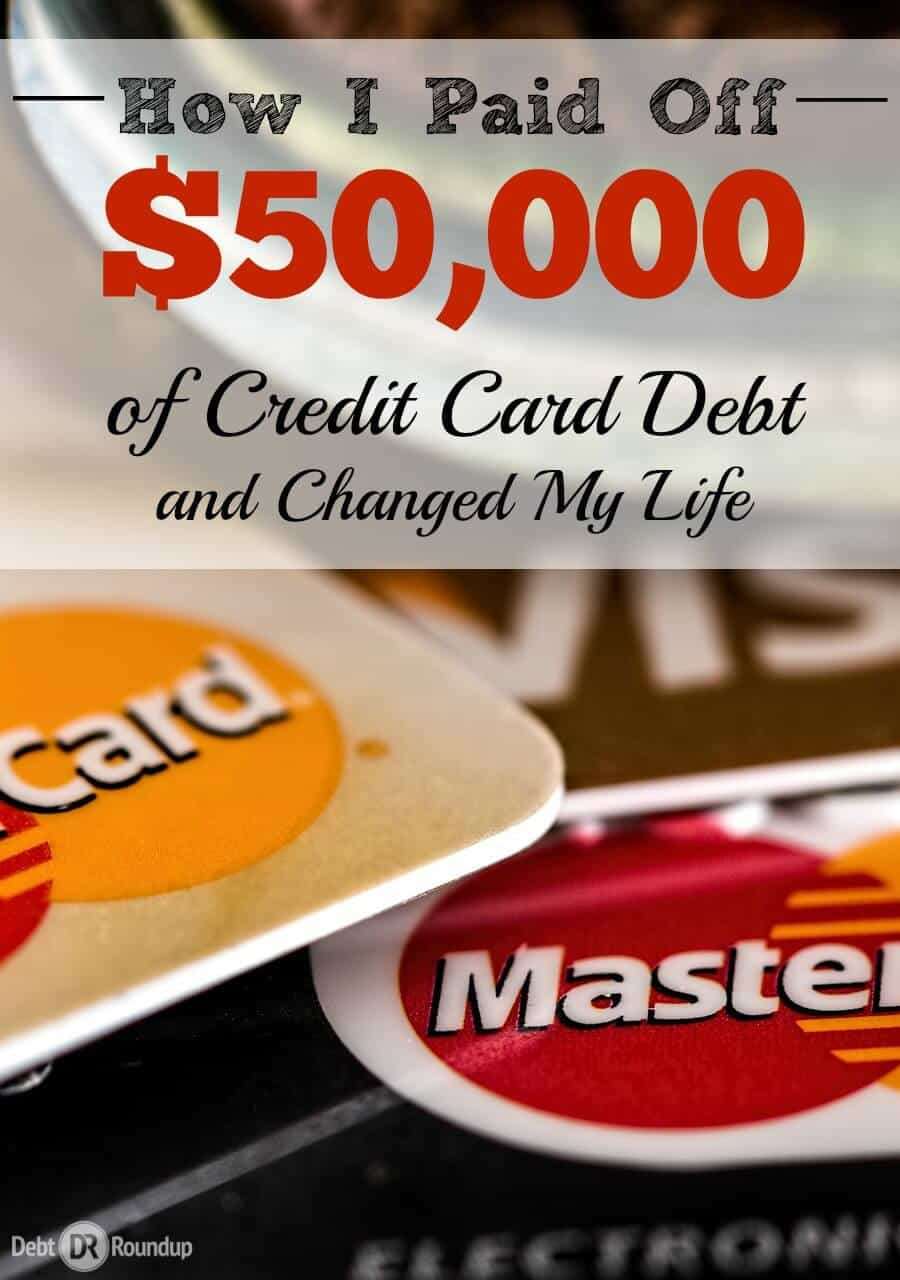 It took a lot of work, but I was able to pay off over $50,000 of credit debt in four years and change my life for good.