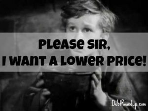 ask for a lower price