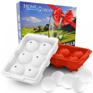 Golf ball ice cubes
