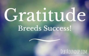 Gratitude breeds success