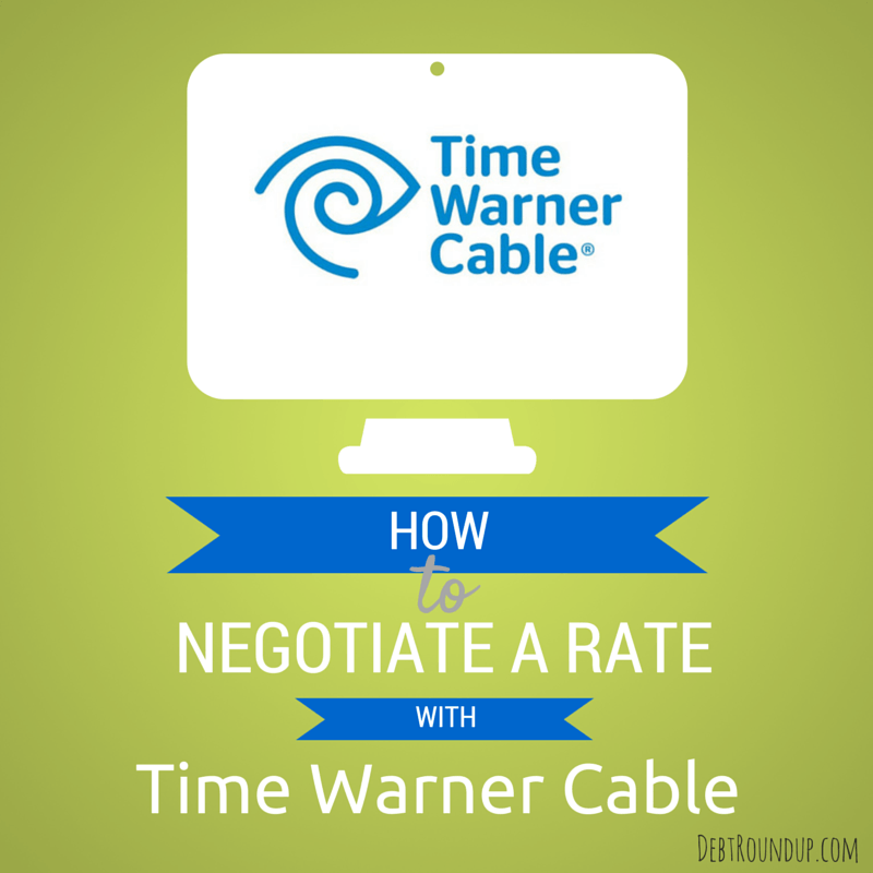 how to negotiate your time warner cable rate debt roundup rh debtroundup com Time Warner Cable My Account Time Warner Cable TV Guide
