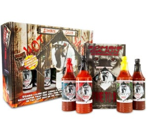 Zombie Hot Sauce Gift Set