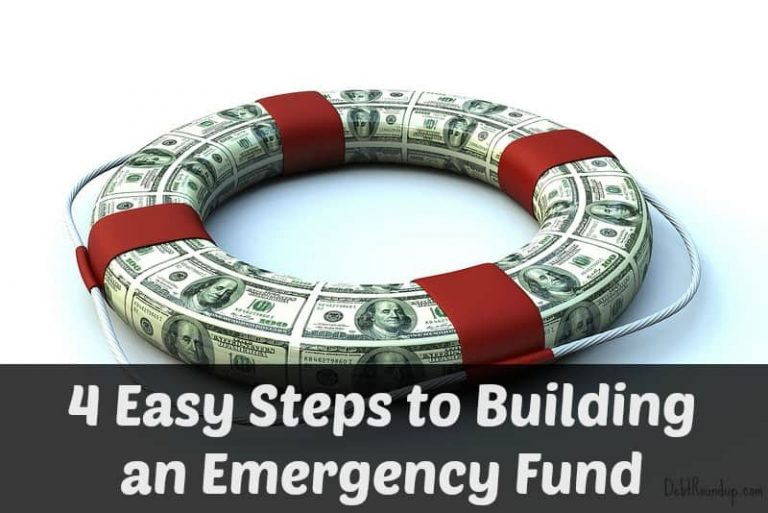 4 Easy Steps to Building an Emergency Fund