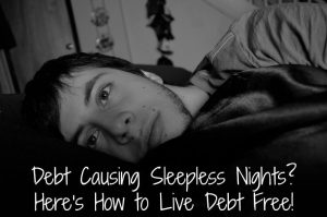 how to live debt free