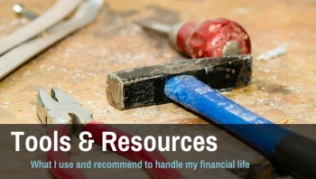 personal finance resources and tools I recommend