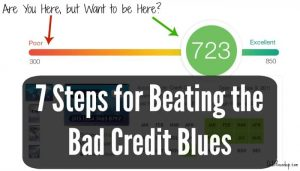 how to raise a bad credit score