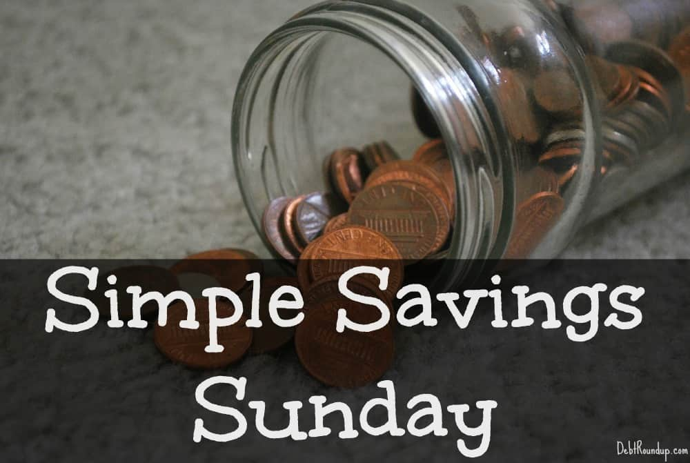 Simple Savings Sunday