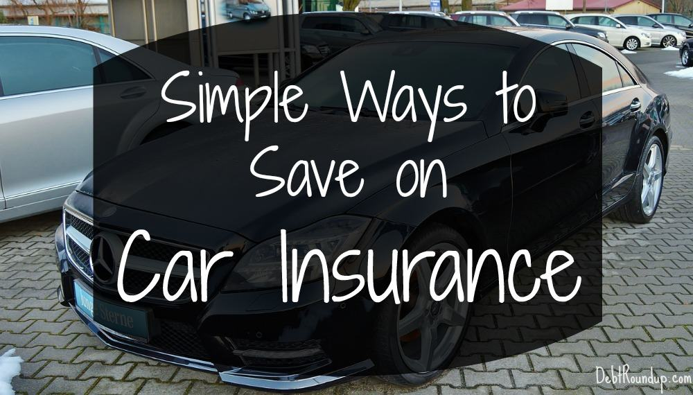 Simple Tips to Save Money on Car Insurance [Infographic ...