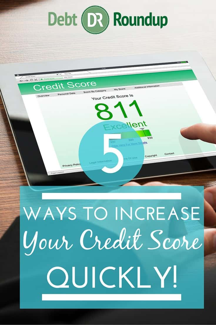 5 Quick Ways to Increase Your Credit Score