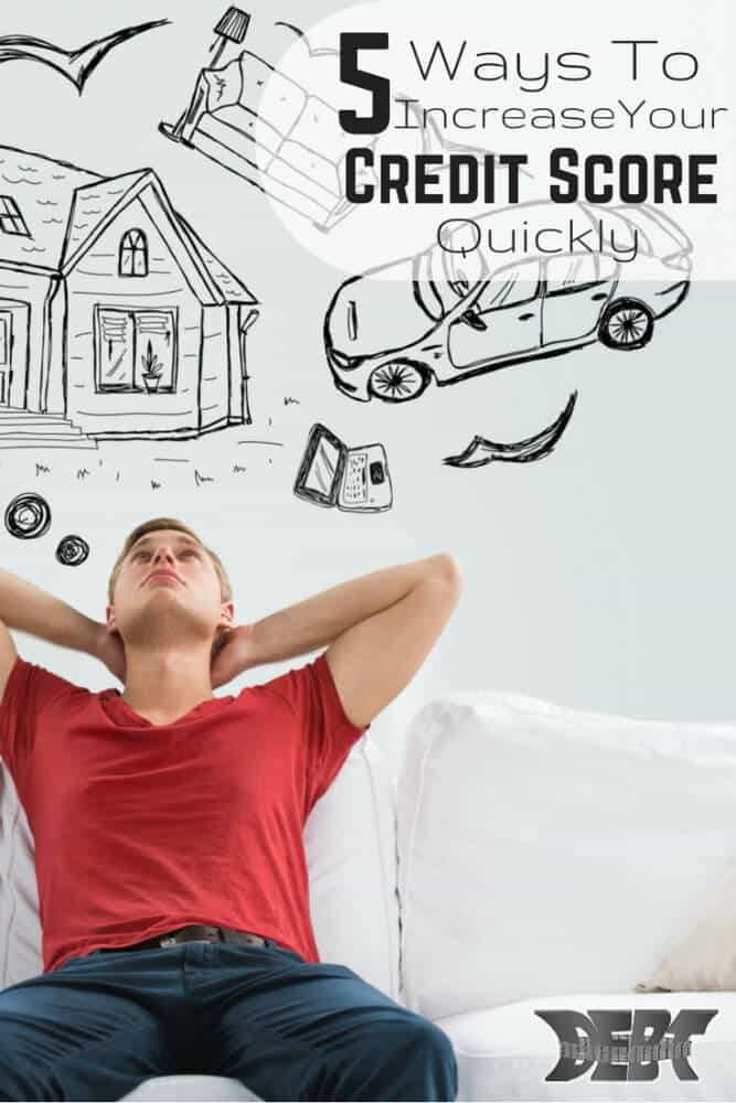 5 Ways to Increase your credit score quickly