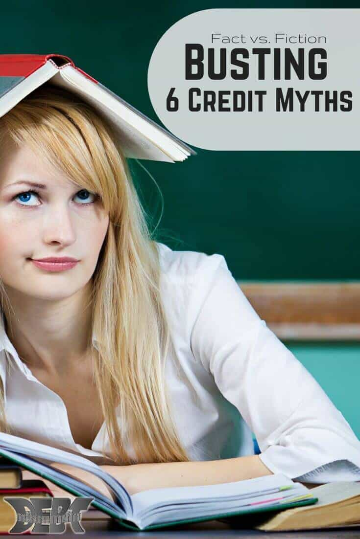 Busting Six Credit Myths