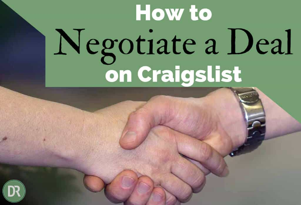 How to Negotiate a Deal on Craigslist