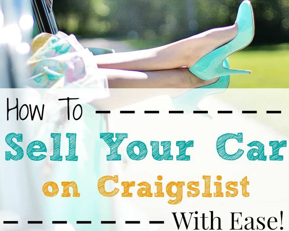 How to Sell Your Car on Craigslist Quickly
