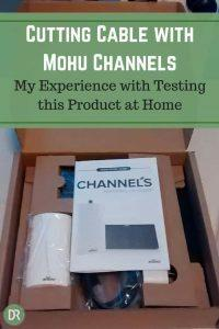 My experience testing Mohu Channels