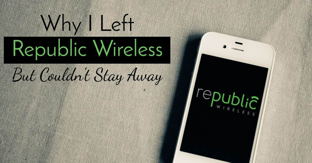 Our Republic Wireless Review - Why we left and came back