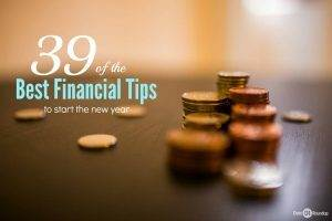 39 of the best financial tips to start the new year