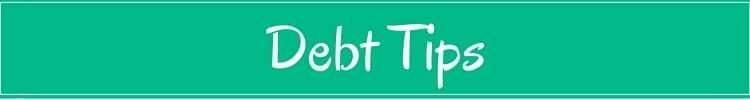 Debt Financial Tips
