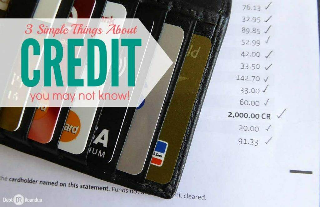Do You Know These 3 Simple Things About Credit?
