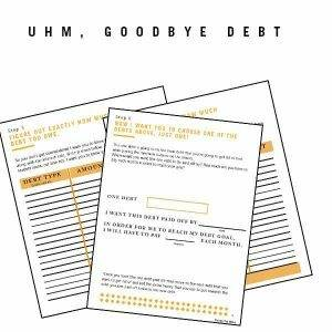 Goodbye Debt