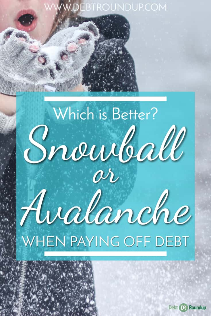 Should you use the Snowball or Avalanche when paying off debt?