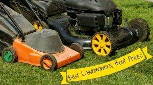 Best Prices for Lawnmowers
