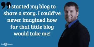 How far a blog can take you