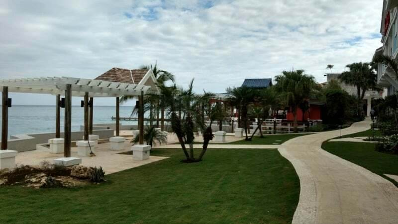 Some of the grounds around Sandals